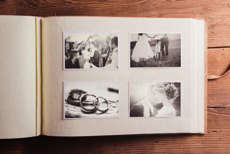 Fotos de la boda imagen de archivo libre de regalías