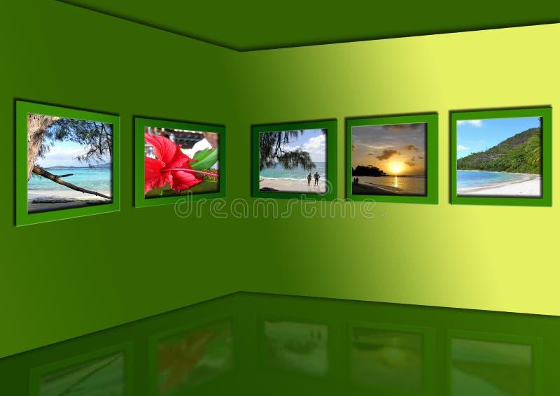 Fotos de tropics exóticos ilustração stock