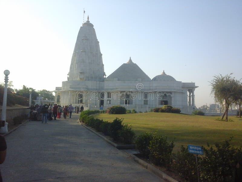 Fotos del lugar del templo de Birla imagen de archivo