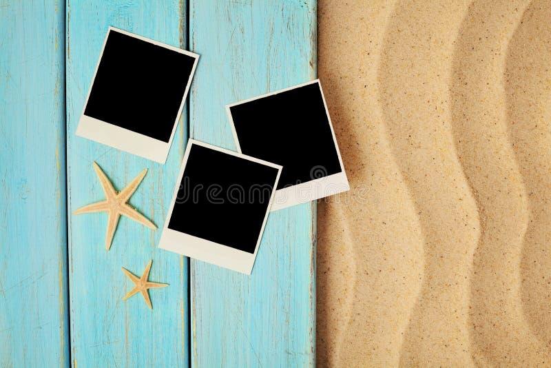 Fotos del verano en la playa de la arena imágenes de archivo libres de regalías
