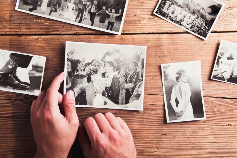 Fotos do casamento imagens de stock royalty free