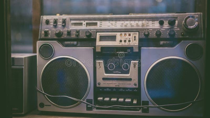 Fotos do receptor de rádio do vintage fotos de stock royalty free