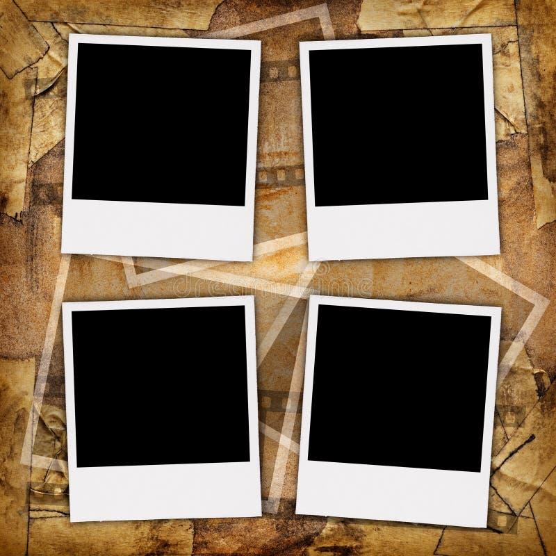 Fotos en blanco foto de archivo libre de regalías
