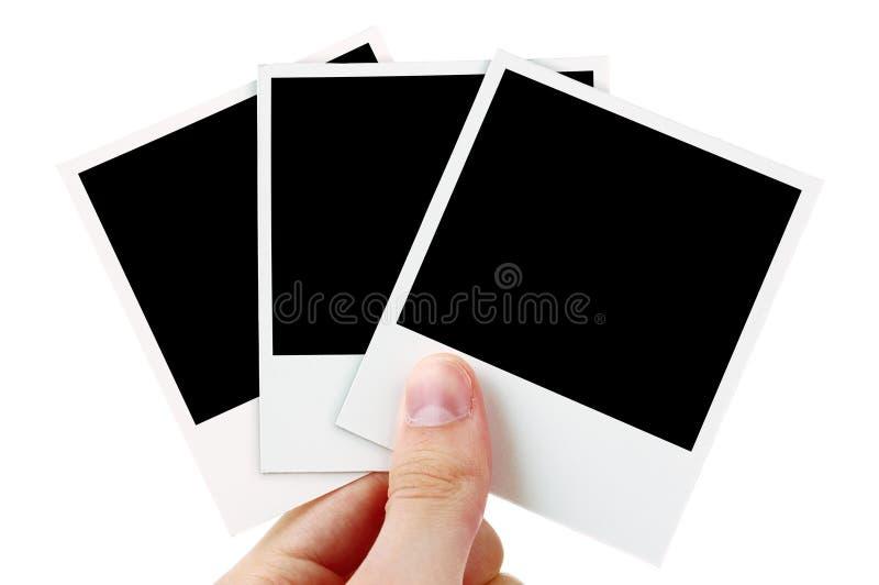 Fotos en blanco imagen de archivo libre de regalías