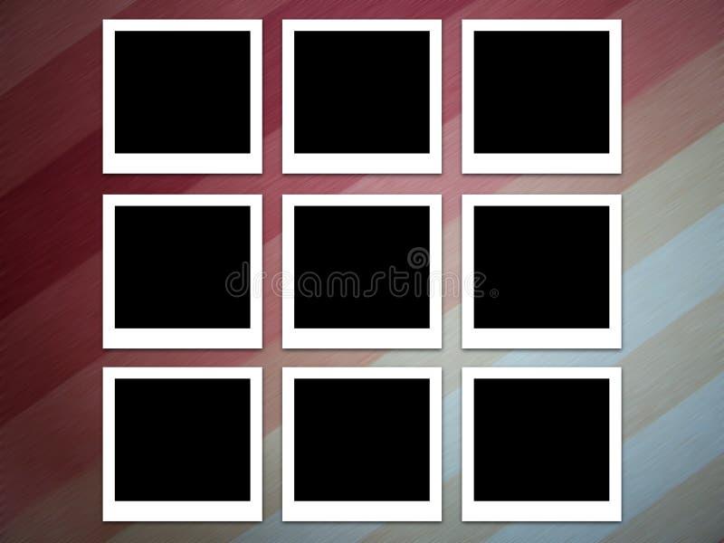 Fotos en rayas stock de ilustración