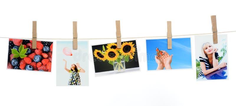 Fotos impresas fotografía de archivo libre de regalías