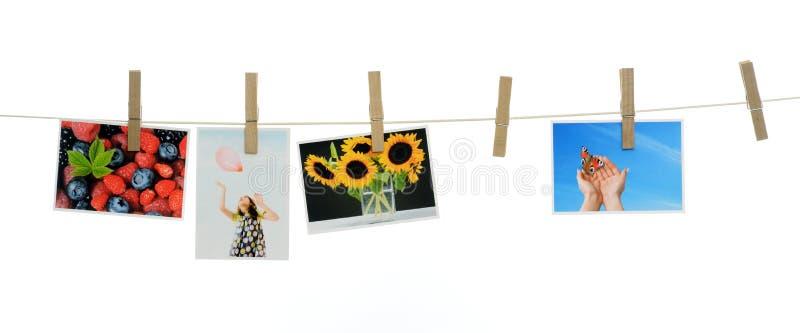 Fotos impresas foto de archivo