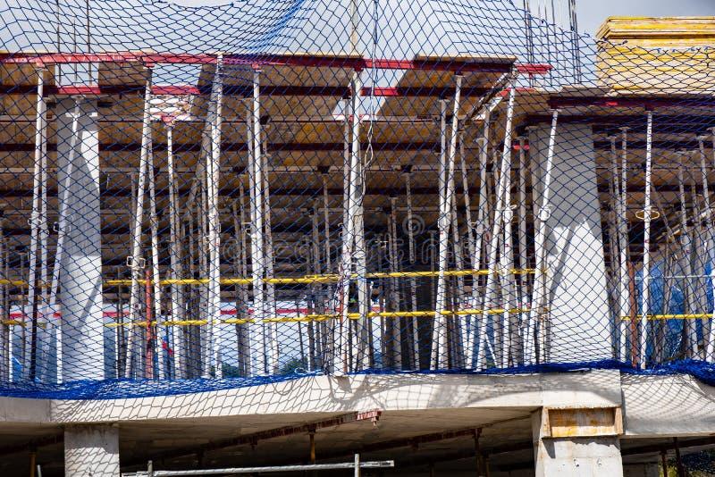 Fotos num local de construção imagens de stock