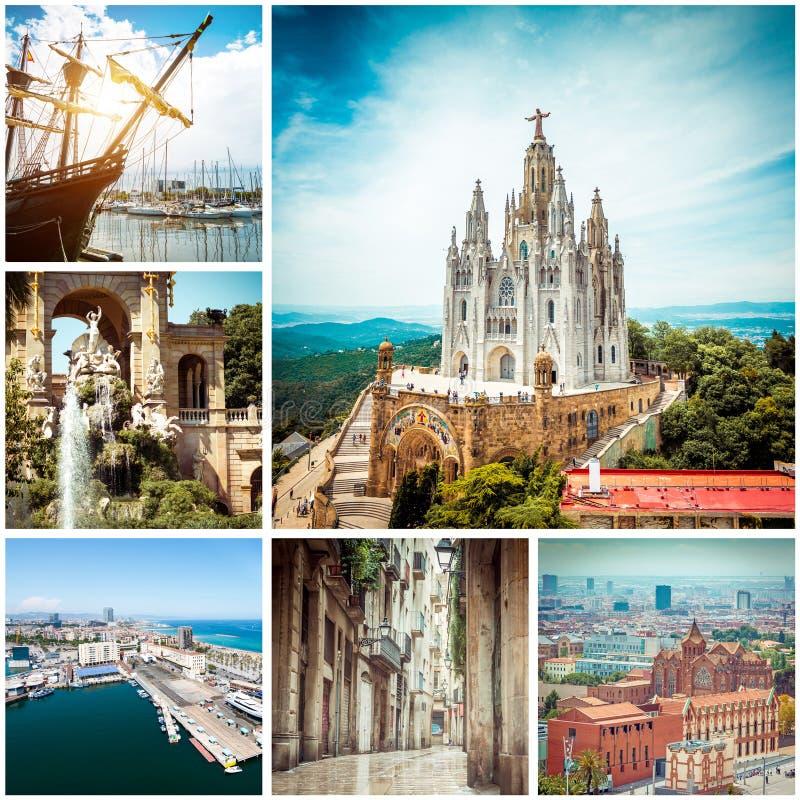 Fotos von Barcelona stockfoto