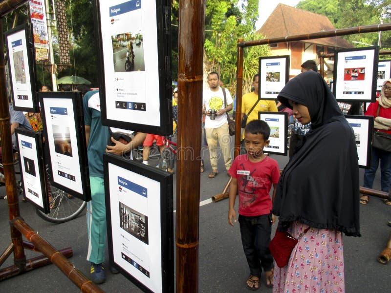 Fototentoonstelling stock afbeeldingen