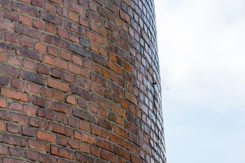 Fotovägg av en rund byggnad Ställe för din text royaltyfria bilder