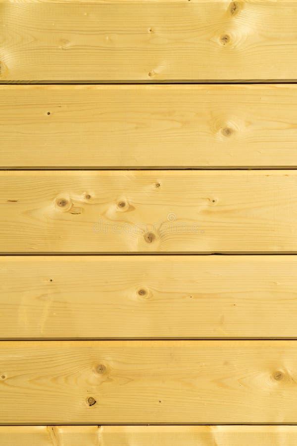 Fotowand eines Holzhauses gemacht von den Holzbalken lizenzfreie stockfotografie