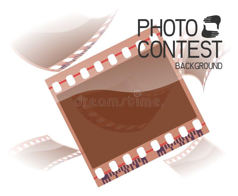 Fotowedstrijd stock illustratie