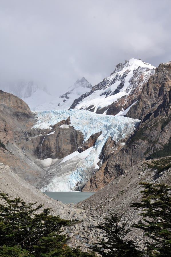 Fotvandra i Patagonia, Argentina arkivfoton