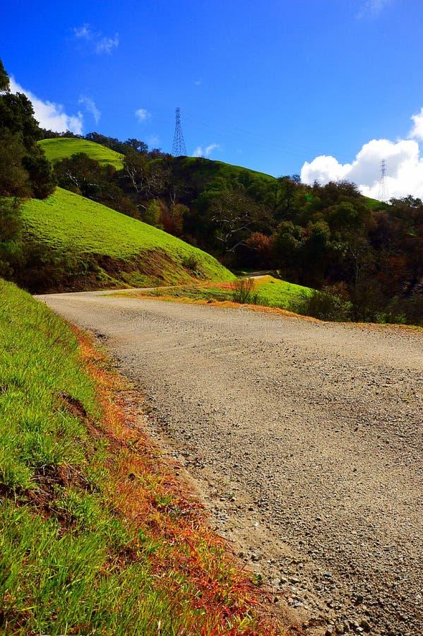 Fotvandra på den Cuesta kvaliteten fotografering för bildbyråer