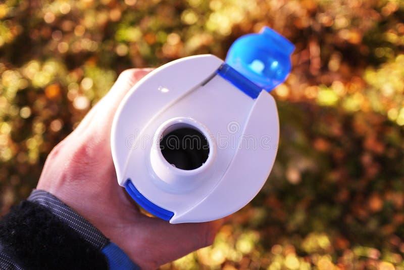 Fotvandra uppsättningen av disk För lopp, att fotvandra och sportar Passande för vatten royaltyfri fotografi