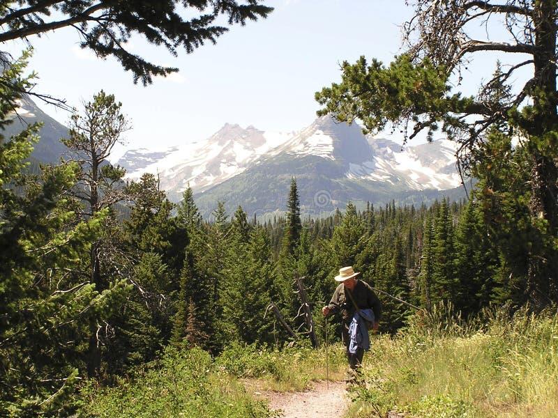 Download Fotvandrarebana arkivfoto. Bild av natur, montana, liggande - 41932