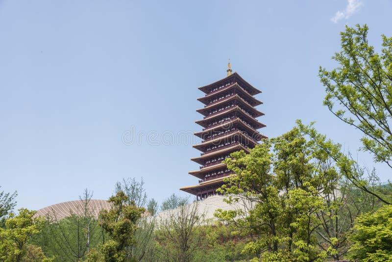 Fouding (Buddha top) pagoda stock photo