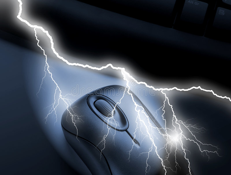 foudre de transmissions illustration de vecteur