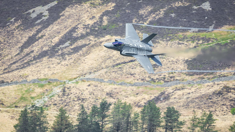Foudre II F35 de l'U.S. Air Force F-35A photographie stock
