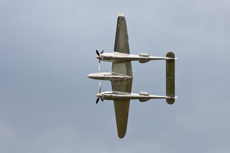 Foudre P-38 photo stock