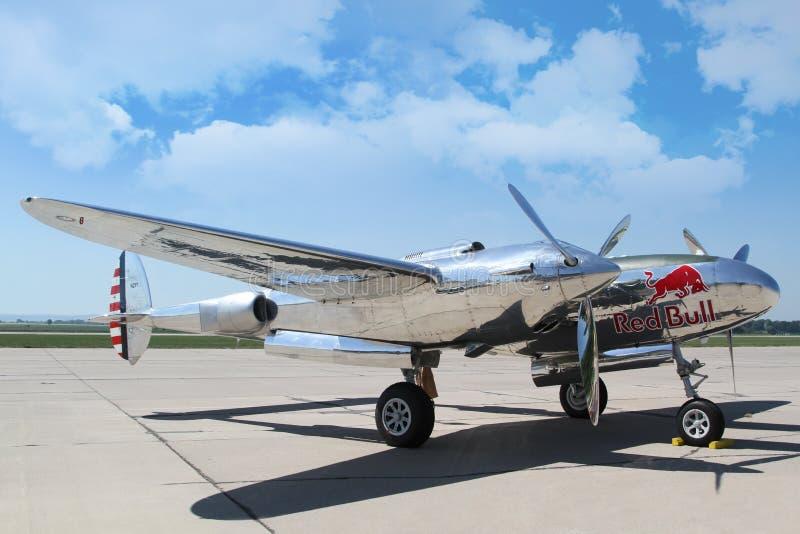 Foudre P-38 image libre de droits