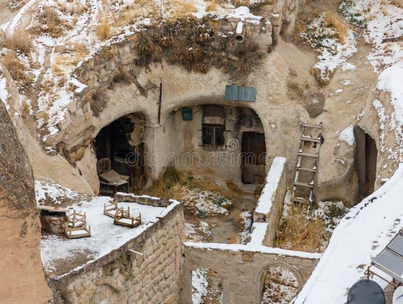 Foudroyez le complexe, Selime, vallée d'Ilhara, Turquie photo libre de droits