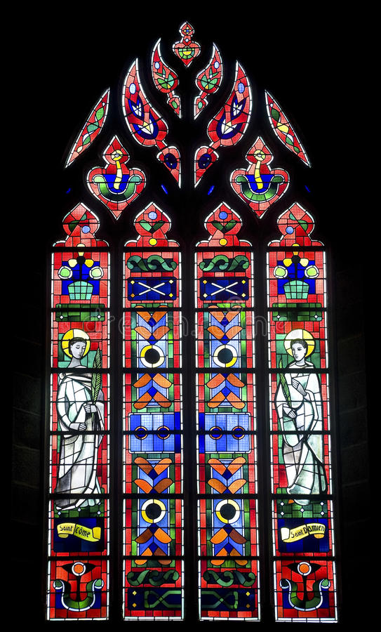 Download Fougeres - Church stock image. Image of indoor, damiano - 27096805