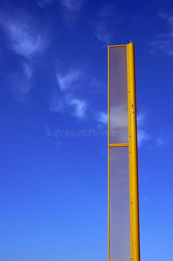 Foul/Fair Pole stock image