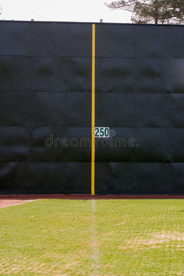 Foul Line royalty free stock images