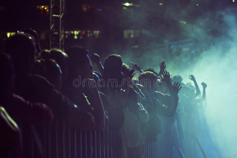foule photographie stock