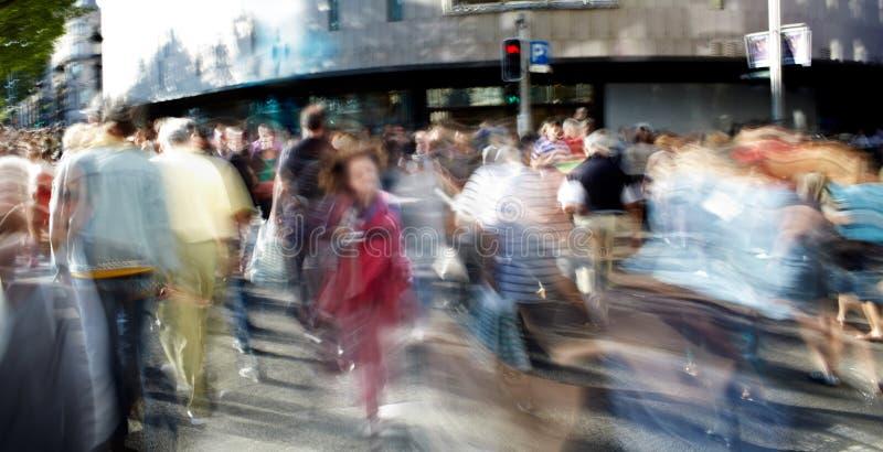 Foule de gens photographie stock libre de droits