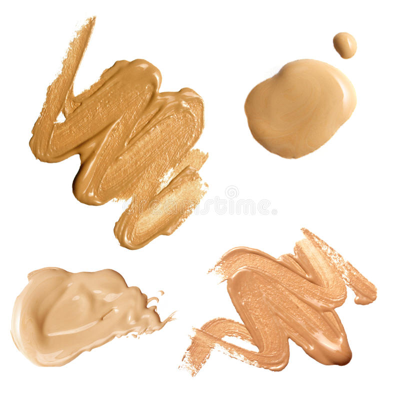 Free Foundation Color Sample Royalty Free Stock Photo - 10163815