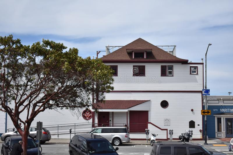 The Historic South End Rowing Club San Francisco. stock images