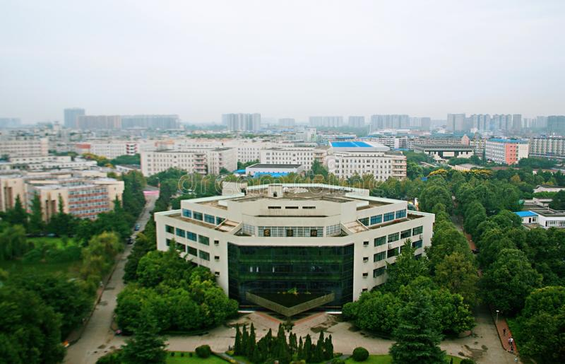 Southwest Jiao Tong University. Founded in 1896, Southwest Jiao Tong University, formerly the Shanhaiguan Beiyang railway official school, is the first stock photography