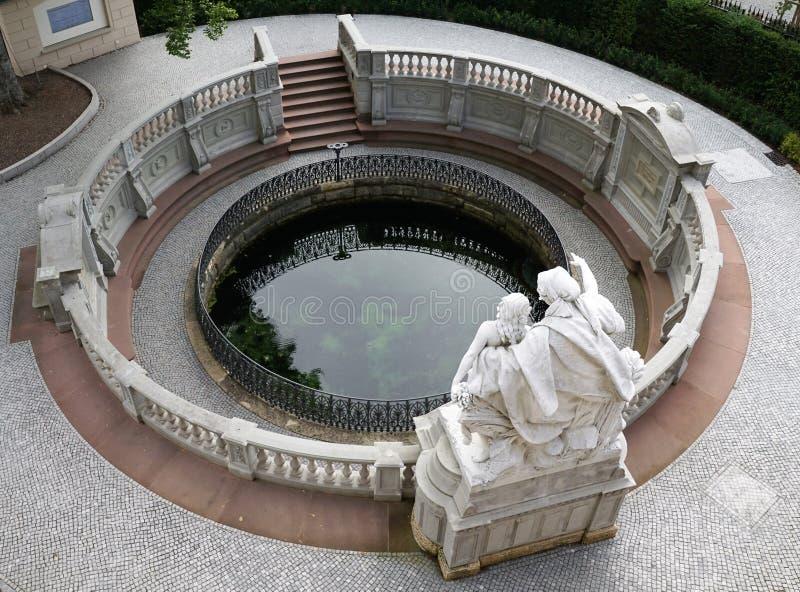 Fount Дуная стоковое изображение