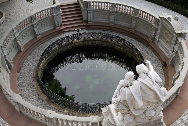Fount Дуная стоковая фотография rf