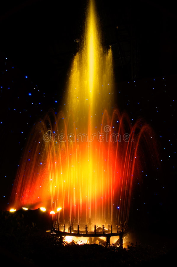 Fountain. A Water Fountain royalty free stock photo