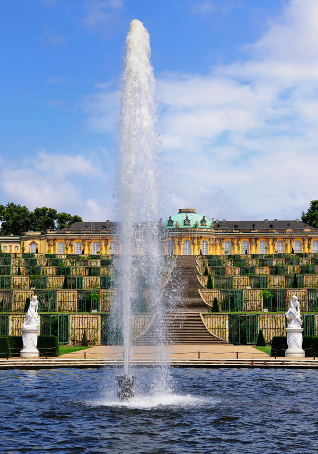 Free Fountain At Sanssouci, Potsdam Stock Photography - 20936852