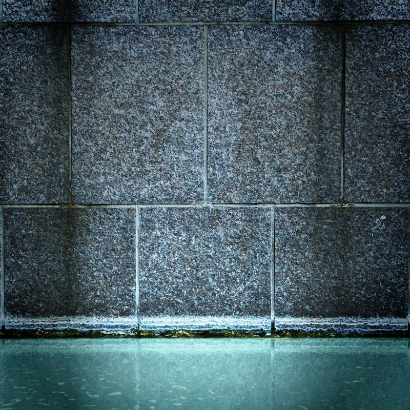 Download Fountain Of Blue Water And Stone Wall Stock Photo - Image of architecture, chamber: 11610456