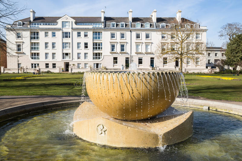 Fountain In Canterbury Dane John Gardens Stock Image Image Of Chantry Park 51798771