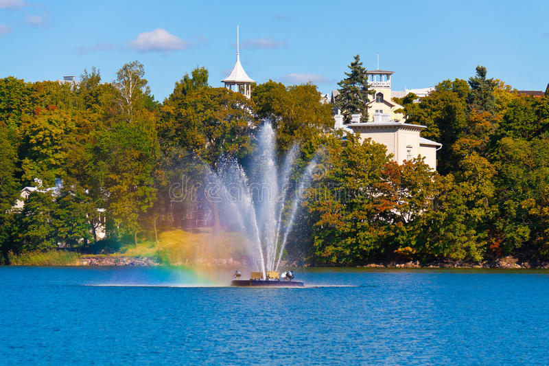 Download Fountain in the city park stock photo. Image of ripple - 15980598