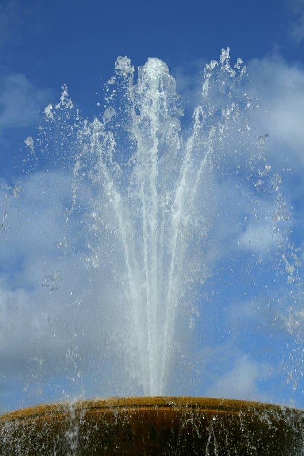 Fountain detail stock photo