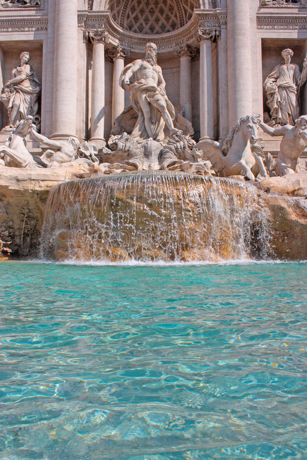 Fountain di Trevi stock photography
