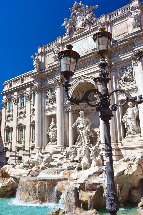Fountain Di Trevi royalty-vrije stock foto
