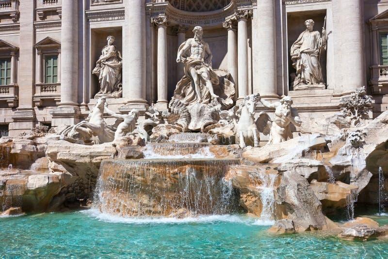 Fountain Di Trevi stock fotografie