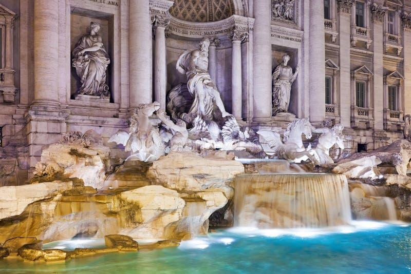 Fountain Di Trevi stock afbeeldingen