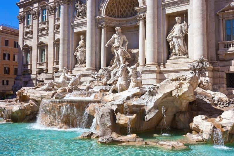Fountain di Trevi fotografía de archivo libre de regalías