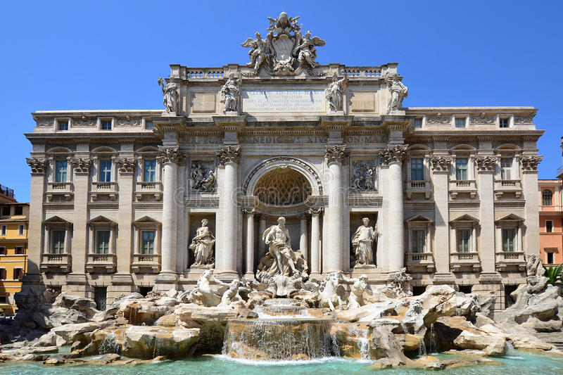 Download Fountain Di Trevi - Most Famous Rome's Fountains Stock Image - Image: 20731305