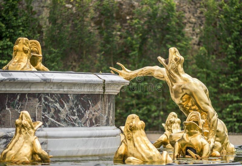 Fountain fragment stock photo